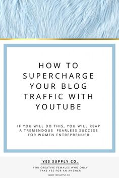 How to supercharge y
