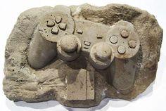 Des fossiles… de consoles de jeux