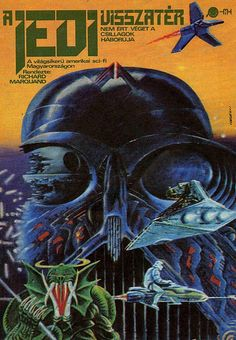 Return of the Jedi hungarian movie poster