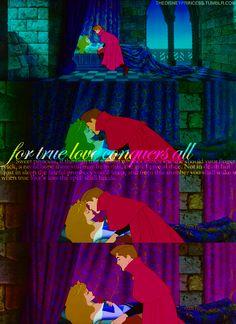 When true love's kiss the spell shall break...