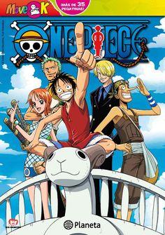 ONE PIECE MOVE K. - Move K es uno de los nuevos cuadernos de actividades basados en el famoso manga de Eiichiro Oda. Incluye 40 pegatinas a todo color del universo ONE PIECE.