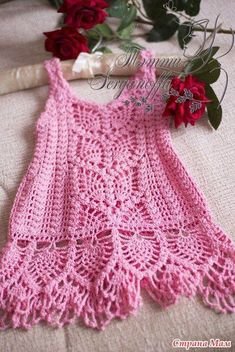 [Free Patterns] Gorgeous Crochet Dresses For Little Girls - Page 3 of 3 #crochetdress [Free Patterns] Gorgeous Crochet Dresses For Little Girls - Page 3 of 3 - Knit And Crochet Daily