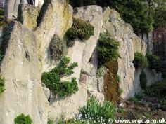hypertufa wall