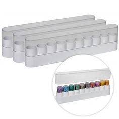 Best Craft Organizer - Stickles Storage - Dazzle Caddy - 3 Pack