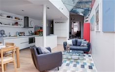 Interiors: a London terrace with perfect pitch - Telegraph
