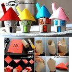 Let's make a house from toilet paper rolls