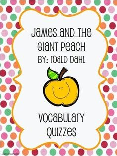 james and the giant peach study guide