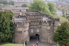 Skipton Castle is situated within the town of Skipton, North Yorkshire, England. The castle has been preserved for over 900 years, built in 1090 by Robert de Romille, a Norman baron.