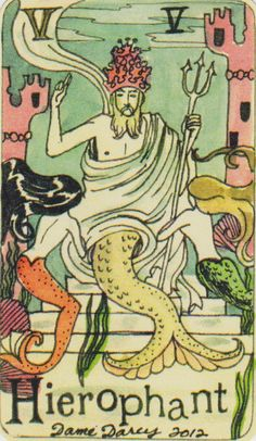 Dame Darcy Mermaid Tarot - Google Search