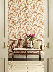 WILLIAMSBURG Solomno's Seal #wallpaper by @YorkWall_Co #interiordesign #TrendMeetsTradition