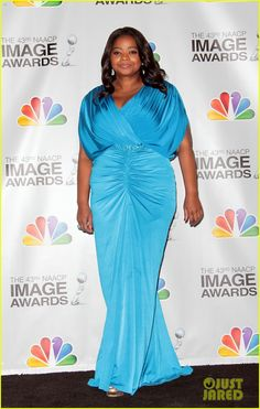 Octavia Spencer: NAACP Image Awards 2012...love the blue dress!!!