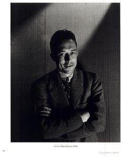 Albert Camus, portrait by Cecil Beaton, 1946