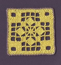 Needle Lace, Needle And Thread, Romanian Lace, Drawn Thread, Lacemaking, Tatting Patterns, Crochet Stitches, Hand Stitching, Needlepoint