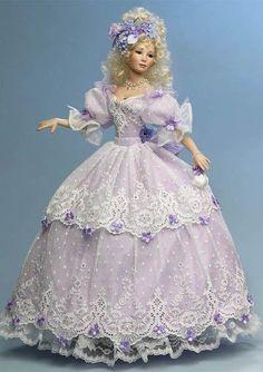1:12 inch Miniature Porcelain Dolls
