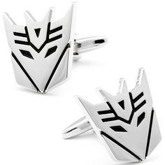 Silver Superhero Transformers Cufflinks CL-CH-210008 Fine Men's Jewelry. $19.95