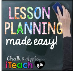Lesson Planning Made