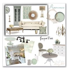 Provance Style by david-kata on Polyvore featuring interior, interiors, interior design, home, home decor, interior decorating, Safavieh, Thomaspaul, Lenox and Vietri