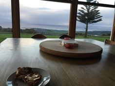 Hot cross buns with a view   Thank you for inviting us to your family home for the weekend @slindseyyy #iminheaven #imnotleaving #nofilterneeded #apollobay by amykjohns http://ift.tt/1LQi8GE