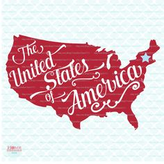 The Unites States of America svg Patriotic svg Patriotism svg American svg Independence Day svg 4th of July svg dxf eps jpg files JB by HomeberriesSVG on Etsy
