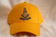 Past Master Mason ball cap with embroidered logo emblem