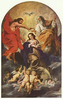 Dogmas y doctrinas marianas de la Iglesia católica - Wikipedia, la enciclopedia libre