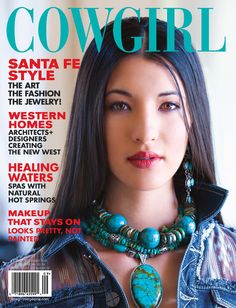 Paige Wallace jewelry for King Ranch featured in Cowgirl Magazine