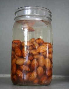 Homemade almond milk. Need to try this... but need to figure out where to get that crazy straining cloth first.