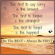 Always be First