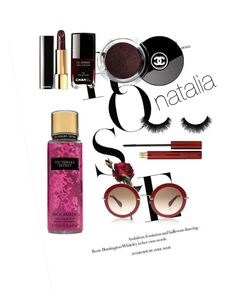 """""""Untitled #4"""" by astutinatalia on Polyvore featuring beauty, Kevyn Aucoin and Chanel"""