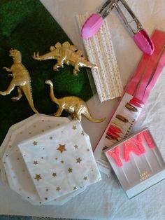Princess Dinosaur Birthday Party and Spa Day Girly Princess and