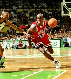 Michael Jordan - Best Player Ever and His Talent Level, Skills and Excitement Help Continue the Popularity of the NBA to Took it to New Heights.