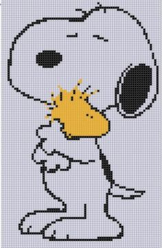 Looking for your next project? You're going to love Snoopy and Woodstock Cross Stitch by designer bracefacepatterns. - via @Craftsy