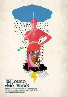 Cartaz Editora Abril | Flickr - Photo Sharing! Cartaz Editora Abril  Guilherme's Foerster & Lepca Trabalho acadêmico fresquinho. Campanha para um evento de incentivo à cultura da abril.