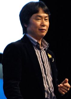 Shigeru Miyamoto (宮本 茂), the videogame legend who created the (Super) Mario-franchise ... (and other extremely successful franchise such as Donkey Kong, The Legend of Zelda, Star Fox, F-Zero, and Pikmin).  In 2006 he was knighted by French Minister of Culture and Communication and became Chevalier de Ordre des Arts et des Lettres (Knight of Arts and Literature).