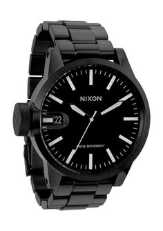 Check out this Nixon Chronicle SS Mens Watch. As go the actions and truth of history, so too goes The Chronicle.  https://www.facebook.com/AuthenticWatchStore