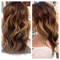 Love the colors but as highlights and lowlights instead of ombré.