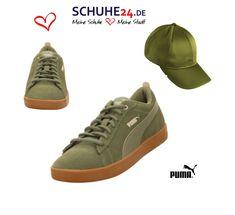 84141dbc1c70 Puma Sneaker grün Puma Smash Wns v2 SD