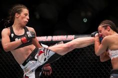 NSFW: UFC Champ  Joanna Jedrzejczyk Leaves Jessica Penne a Bloody Mess in…