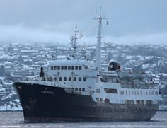 MS Lofoten arrives at Bergen - CLICK ON THE PICTURE TO WATCH THE VIDEO