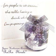 *ハーバリウム* Jewellry Box, Paint Color Schemes, Floating Flowers, Interior Paint Colors, How To Preserve Flowers, Clear Glass, Flower Arrangements, Diy And Crafts, Flora