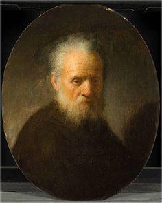 Rembrandt van Rijn, Old man with Beard on ArtStack #rembrandt #art