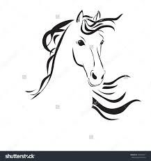 Image result for easy horse head drawings
