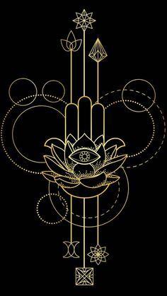 Ant Tattoo, Hamsa Tattoo, Stippling Art, Different Kinds Of Art, Flower Phone Wallpaper, Buddha Art, All Nature, Hand Of Fatima, Tattoo Stencils