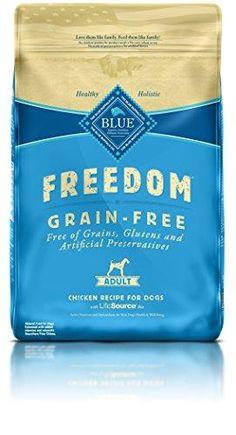 Blue Buffalo Freedom Grain-Free Recipe for Dog, Adult Chicken Recipe Grain Free, 24 lb