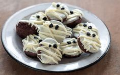 Create a seriously spooky Halloween treat in minutes using just three ingredients! They will be gobbled up just as quickly. Watch our how-to video.