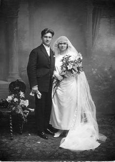 1923 mariage Andrée Lemoine et Pierre Paillard