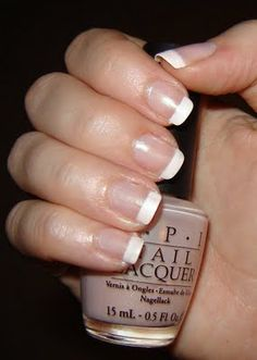 OPI Honeymoon Suite- Perfect color to compliment a french manicure.