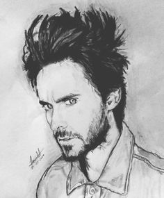 D' Jared Leto! #portrait #30secondstomars #jaredleto #echelon #MARSart