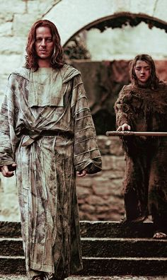 Jagen H'ghar and Arya Stark