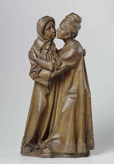 Meester van Joachim en Anna, De ontmoeting van Joachim en Anna (ca. 1470, Rijksmuseum, Amsterdam)